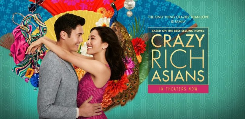 crazy rich asians poster review