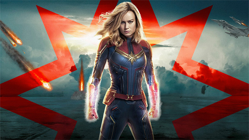 captain marvel 2019 poster review