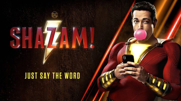 shazam poster review zachary levi