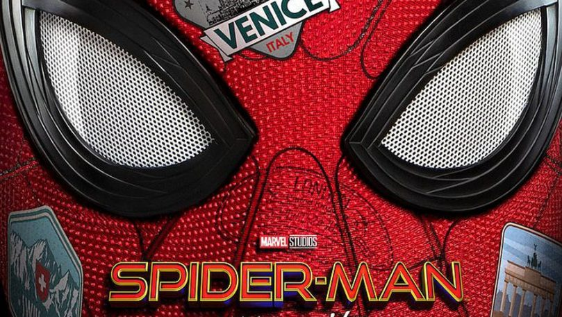 spider man far from home review poster 2019