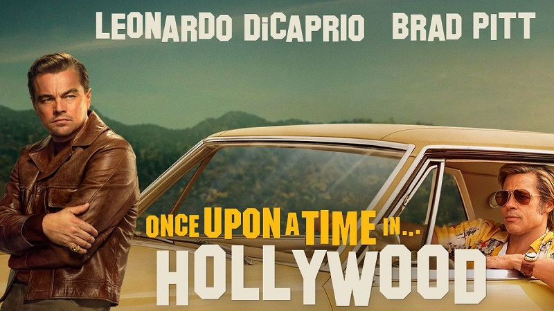 once upon a time in hollywood poster review