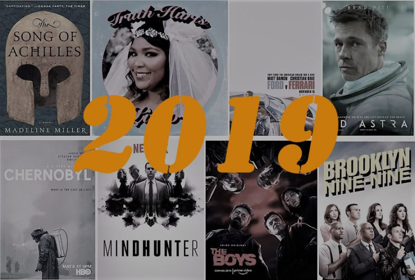 My 2019 Recap: books, movies, TV shows and a bit of music